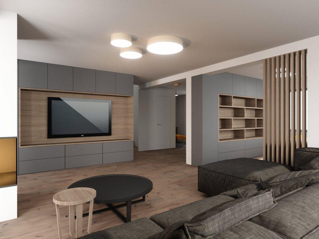 Hiša E, arhitektura in notranja oprema